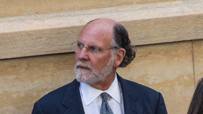 Former chairman and CEO of MF Global and former New Jersey Governor Jon Corzine.