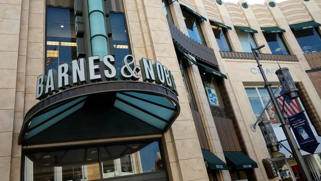 Barnes , Noble's sales plummeted from their results a year ago.