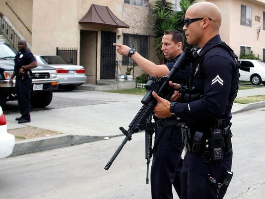 lapd officers shot