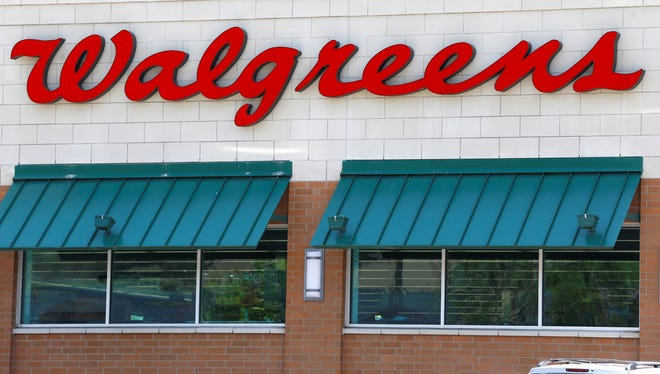 Walreen shares dropped Tuesday despite an increase in revenue in its third quarter.