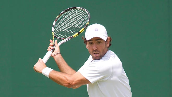 Wayne Odesnik of the USA lost his first-round match Tuesday to Jimmy Wang of Taiwan.