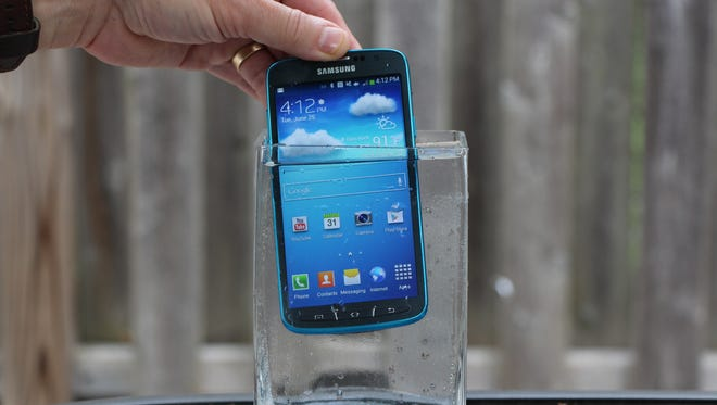 The Galaxy S4 Active.