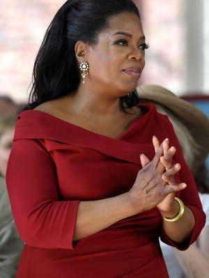 Oprah Winfrey visits Harvard on May 30.