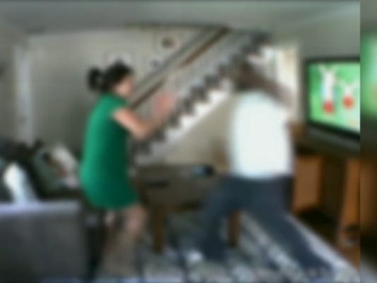 Nanny cam shows intruder beating New Jersey woman