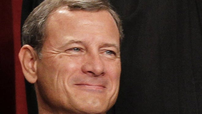 Chief Justice John G. Roberts at the Supreme Court in 2010.