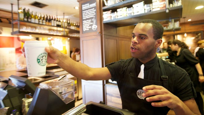 A NY court ruled that Starbucks baristas, who are part-time employees that split tips based on hours worked, must share tips with their shift supervisors.