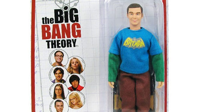 """An exclusive action figure of Sheldon Cooper, Jim Parson's character on """"The Big Bang Theory,"""" will be available at Comic-Con"""