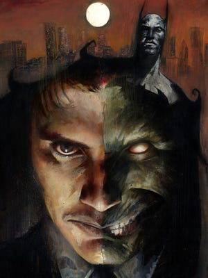 Two-Face and his backstory play a key role in the newest story in the digital-first 'Legends of the Dark Knight' series.