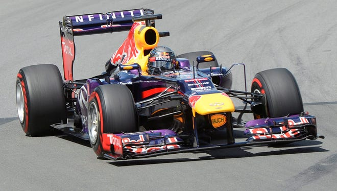 Sebastian Vettel is trying to win the British Grand Prix for the first time since 2009.