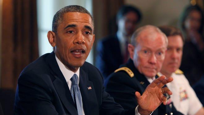 President Obama and Martin Dempsey