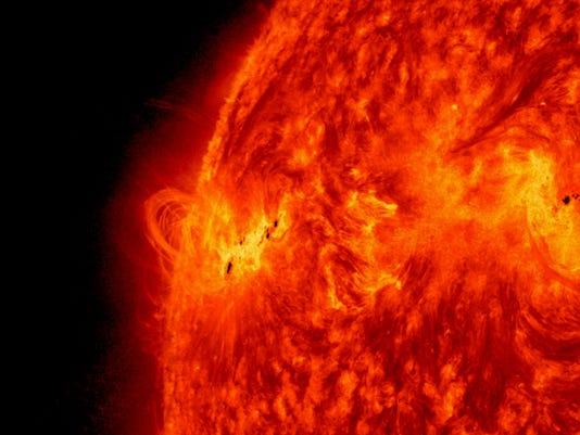 NASA solar flare