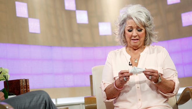 """Chef Paula Deen appears on the """"Today"""" show Wednesday in New York."""