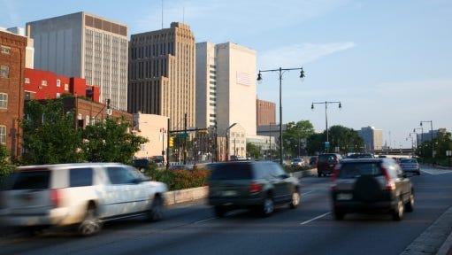 Downtown Newark, N.J.