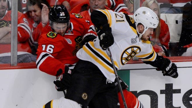 The Boston Bruins, who have youngsters in the pipeline, won't re-sign defenseman Andrew Ference.