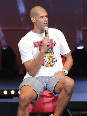 Shane Battier of the Miami Heat will be interviewing NBA draftees.