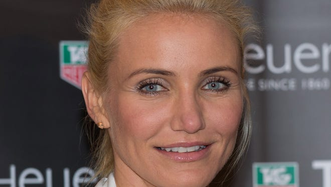 Cameron Diaz, shown on May 25, has a new role.