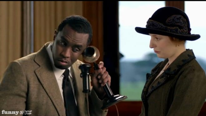 Diddy plays Lord Wolcott on a Funny or Die version of 'Downton Abbey.'