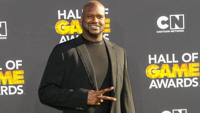 Shaquille O'Neal  will join Adam Sandler and Kevin James as grand marshals at Daytona on July 6.