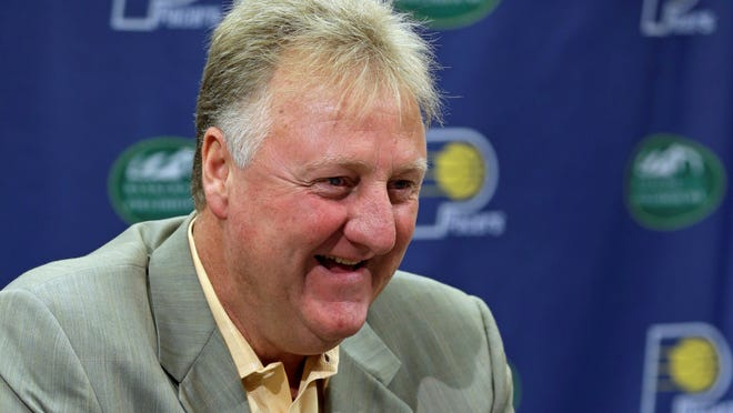Larry Bird talks about returning as the Indiana Pacers President of Basketball Operations,