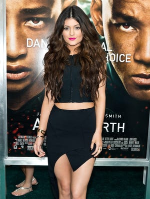 Kylie Jenner attends the 'After Earth' premiere in NYC on May 29.
