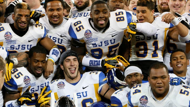 Before punching its ticket to another bowl game, San Jose State needs to fix its defense.