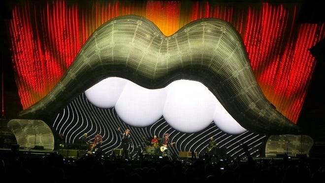 Mark Fisher helped create the design of the Rolling Stones' 50th-anniversary tour.