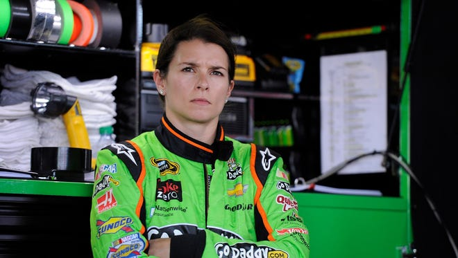 NASCAR television analyst Kyle Petty was critical of Danica Patrick's racing skill Thursday on Speed's RaceHub program.