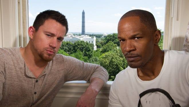 Channing Tatum and Jamie Foxx make a capital team in 'White House Down' as a war veteran/cop and the U.S. president.