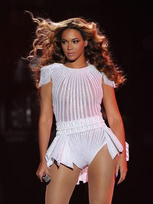 Beyonce opens her U.S. dates for the Mrs. Carter Show world tour at BET Experience in Los Angeles.