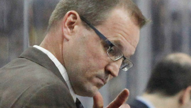 Dan Bylsma beat out Peter Laviolette and John Tortorella to be named U.S. Olympic coach.