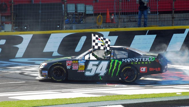 Kyle Busch has won six of 11 Nationwide Series races he has entered this year.