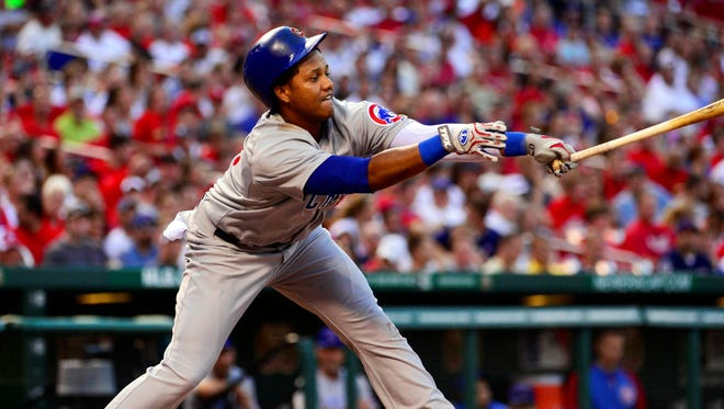 Cubs shortstop Starlin Castro, a .300 hitter his first two seasons, has struggled this season (.234 average, 14 errors).