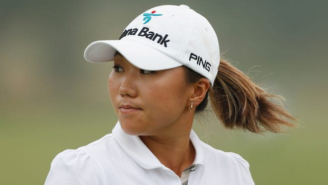 I.K. Kim of South Korea shot a second-round 69 to take the clubhouse lead on Friday at Sebonack Golf Club.