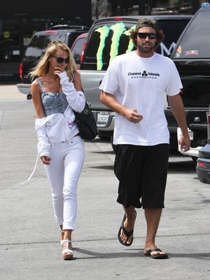 Model Bryana Holly and TV personality Brody Jenner were spotted on Thursday in L.A. Unfortunately they were wearing a lot more clothes.