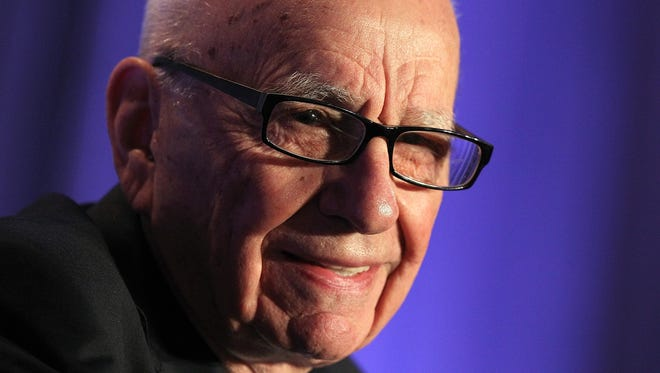 Rupert Murdoch will be chairman of both companies after News Corp splits into two entities, allowing the TV side to focus on its sports network and the publishing side to focus on engineering a turnaround.