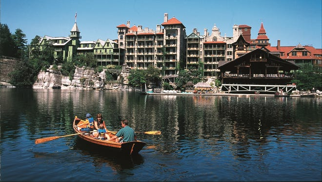 Mohonk Mountain House is known for its plethora of themed programs, including fitness classes, rock climbing, expert-guided nature walks, afternoon teas and even square dances.