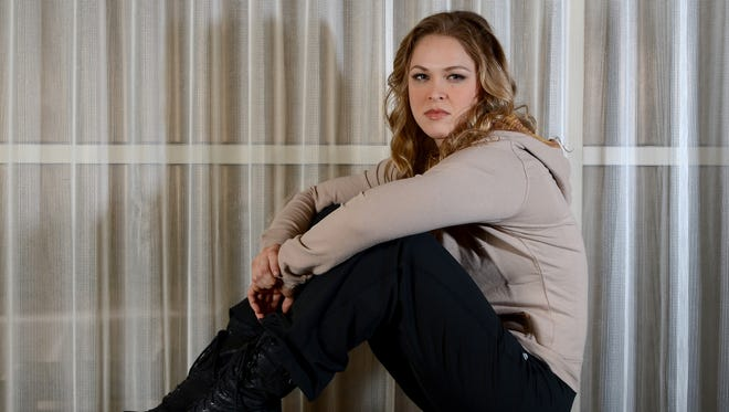 """Ronda Rousey currently is coaching against Miesha Tate on """"The Ultimate Fighter""""."""
