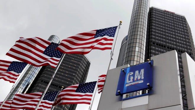 General Motors  world headquarters in Detroit.