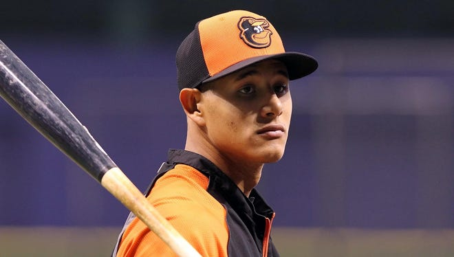Manny Machado's Wins Above Replacement figure of 4.5 is among the best in the major leagues this season.