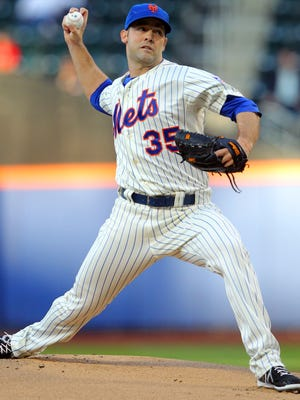 New York Mets pitcher Dillon Gee (6-7) limited the Washington Nationals to one run in six innings, working around six hits and three walks.