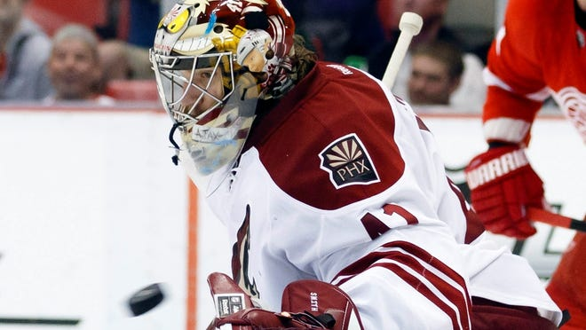 Phoenix Coyotes goalie Mike Smith will make more than $34 million over the course of his new deal.