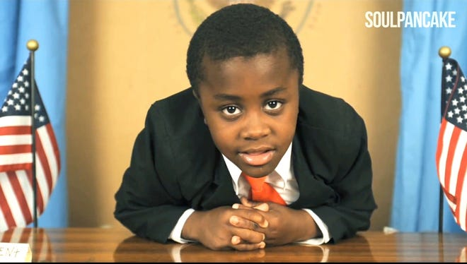 Kid President talks Despicable Me 2 with Steve Carell.