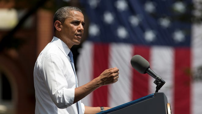 President Barack Obama delivers an address about climate change, laying out the administration's plan moving forward, at Georgetown University last week.