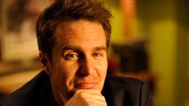 """Sam Rockwell stars as a slacker father figure in the motion picture """"The Way Way Back."""""""