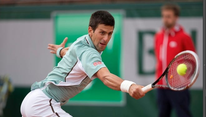 """""""It's very interesting for me to talk about it because I know I can recall in several situations when I've done that,"""" Novak Djokovic says of the 360 swivel."""