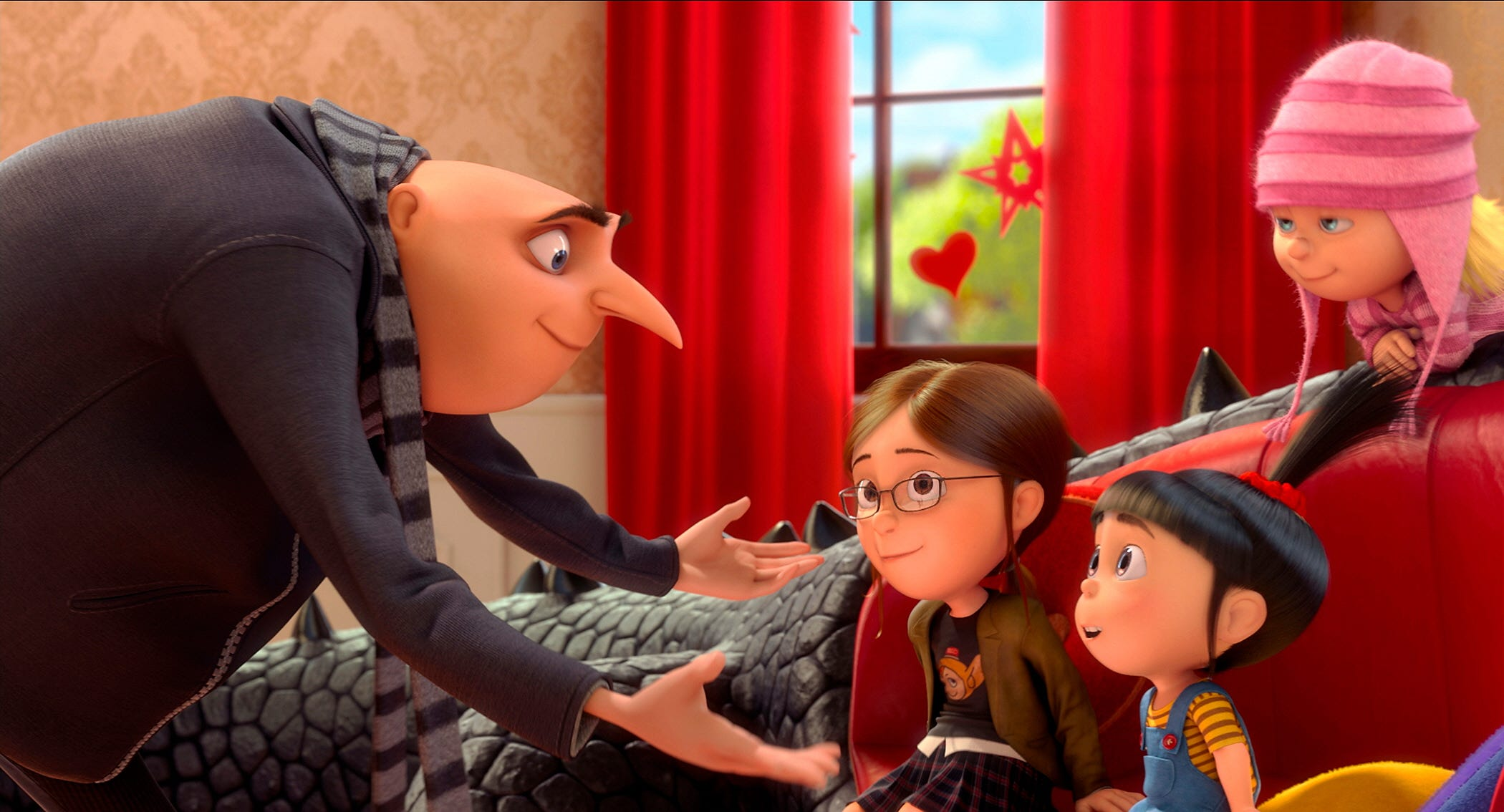The dating guy characters in despicable me