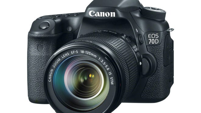 The new Canon 70D.