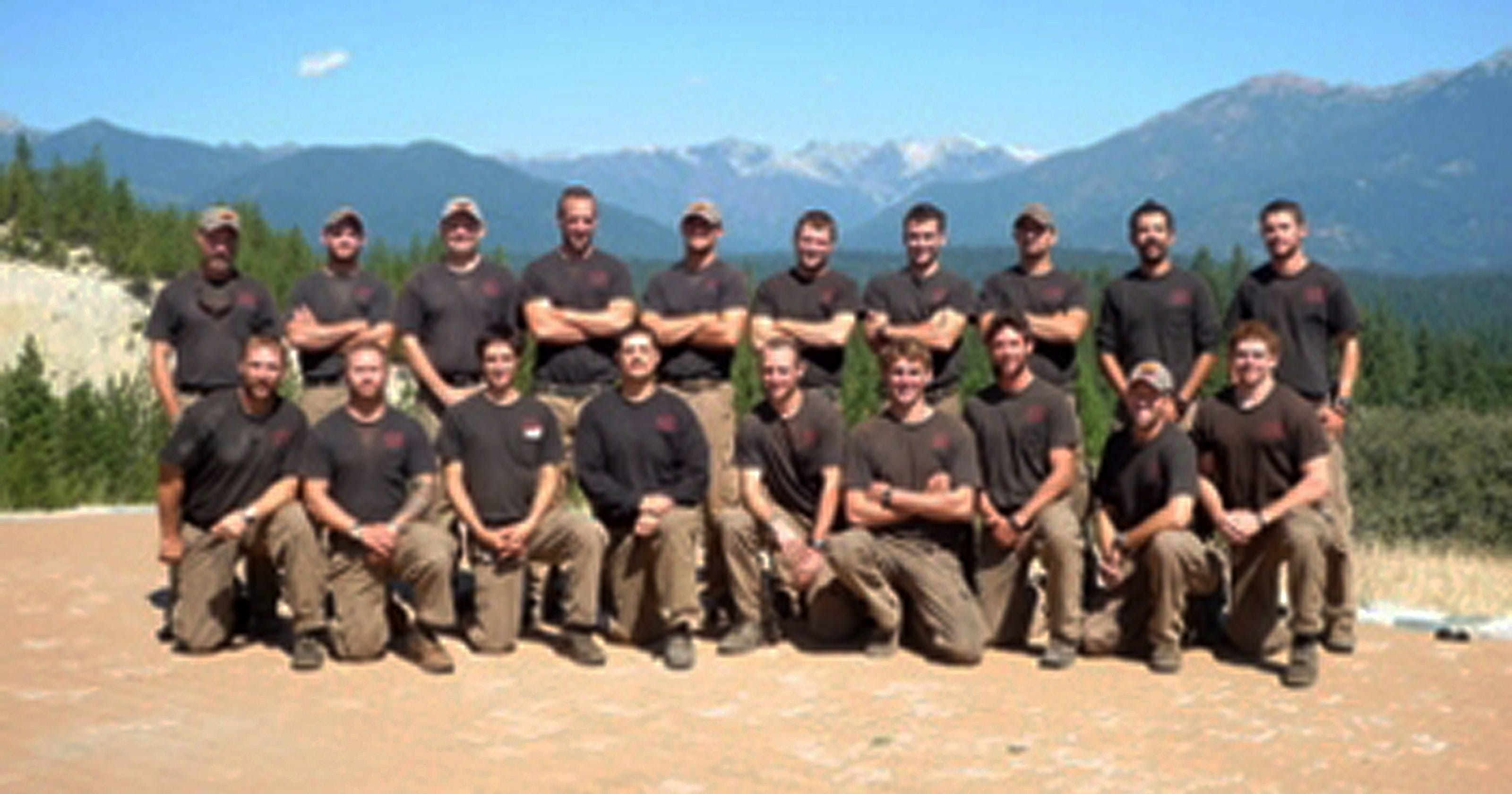 Hotshot teams are the elite of wildfire fighters