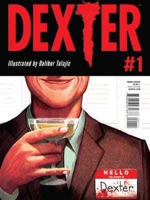 "Author Jeff Lindsay brings his sociopathic blood-spatter expert to comics with a new ""Dexter"" series."