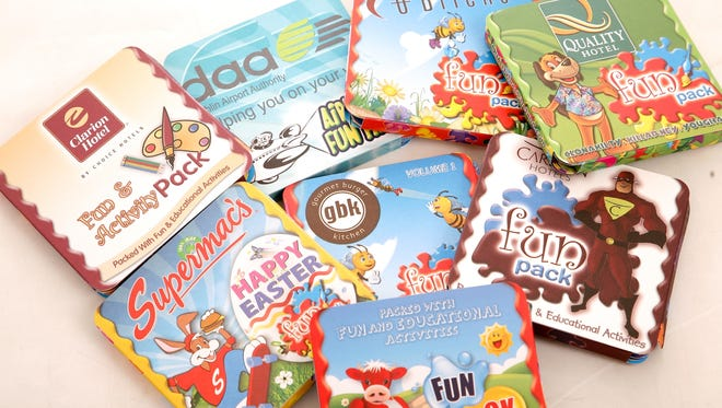 Fun Packs, a company that creates entertainment packages for kids on-the-go, has gotten a huge boost from social media.